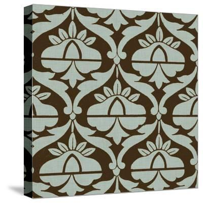 Spa and Sepia Tile III-Vision Studio-Stretched Canvas Print