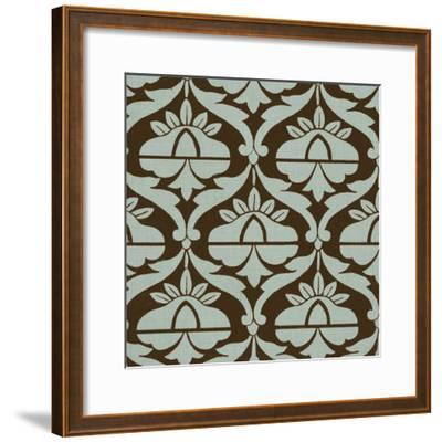 Spa and Sepia Tile III-Vision Studio-Framed Art Print