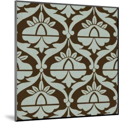 Spa and Sepia Tile III-Vision Studio-Mounted Art Print