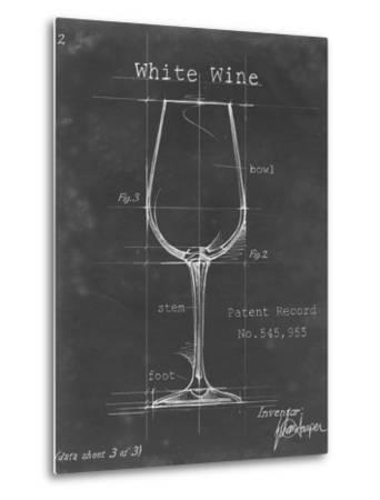 Barware Blueprint IV-Ethan Harper-Metal Print