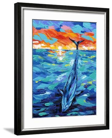 Ocean Friends II-Carolee Vitaletti-Framed Art Print
