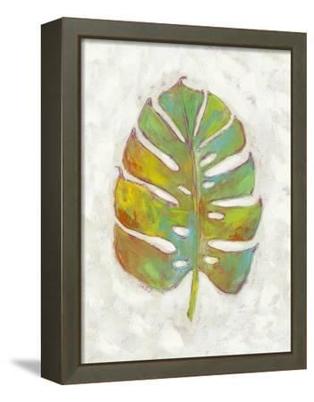 Vacation Palms III-Chariklia Zarris-Framed Stretched Canvas Print