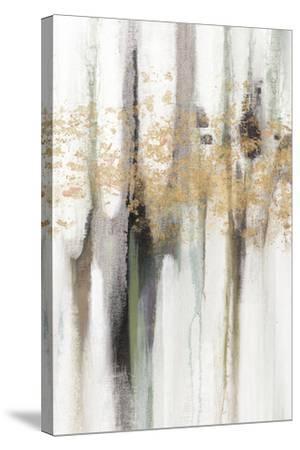Falling Gold Leaf I-Studio W-Stretched Canvas Print