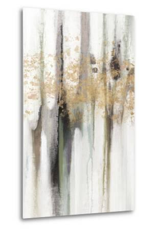Falling Gold Leaf I-Studio W-Metal Print