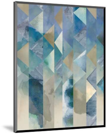 Ocean Reflections I-Chariklia Zarris-Mounted Art Print