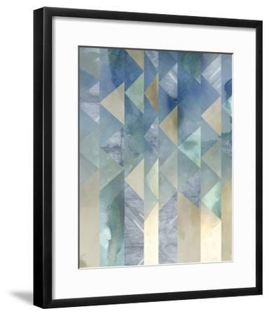 Ocean Reflections II-Chariklia Zarris-Framed Art Print