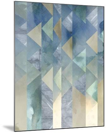 Ocean Reflections II-Chariklia Zarris-Mounted Art Print