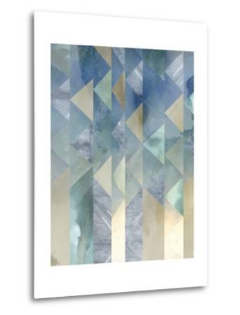 Ocean Reflections II-Chariklia Zarris-Metal Print