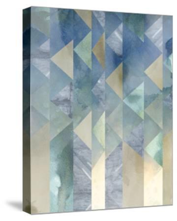 Ocean Reflections II-Chariklia Zarris-Stretched Canvas Print