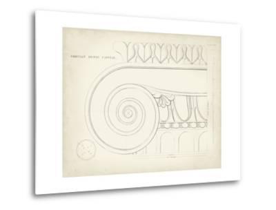 Greek and Roman Architecture IX-Thomas Kelly-Metal Print