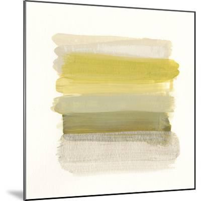 Palette Stack III-June Vess-Mounted Art Print