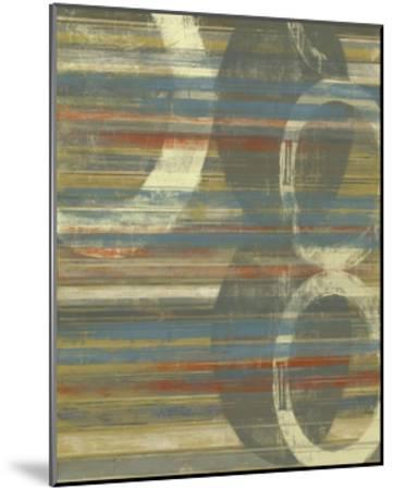 Textured Orbs I-Jennifer Goldberger-Mounted Art Print