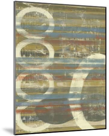 Textured Orbs II-Jennifer Goldberger-Mounted Art Print