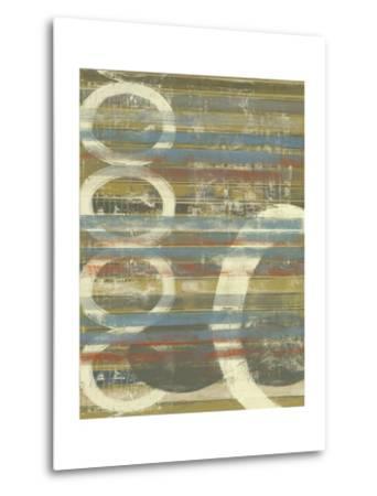 Textured Orbs II-Jennifer Goldberger-Metal Print