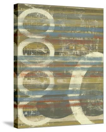 Textured Orbs II-Jennifer Goldberger-Stretched Canvas Print