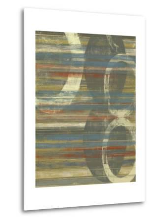 Textured Orbs I-Jennifer Goldberger-Metal Print