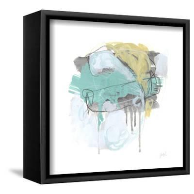 Gestural Logic IV-June Vess-Framed Stretched Canvas Print