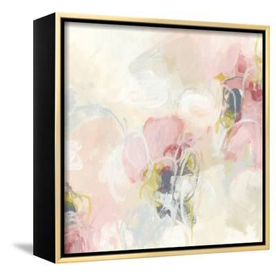 Cherry Blossom II-June Vess-Framed Stretched Canvas Print