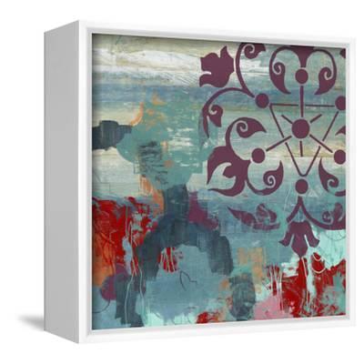 Jewel Tone Garden II-June Vess-Framed Stretched Canvas Print