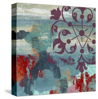 Jewel Tone Garden II-June Vess-Stretched Canvas Print