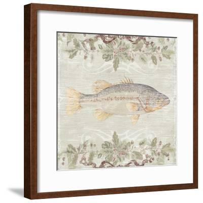 Cabin Christmas I-June Vess-Framed Art Print