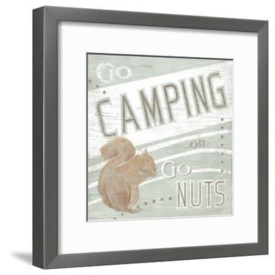 Lodge Life II-June Vess-Framed Art Print