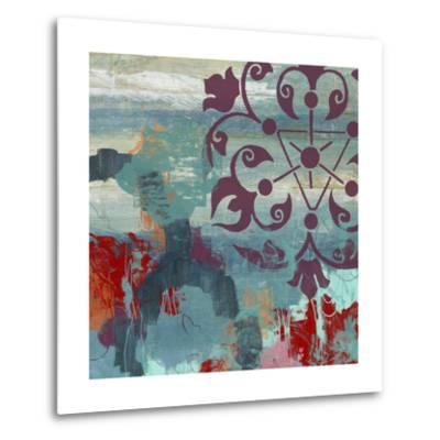 Jewel Tone Garden II-June Vess-Metal Print
