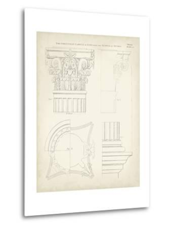Greek and Roman Architecture I-Thomas Kelly-Metal Print