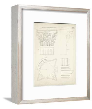 Greek and Roman Architecture I-Thomas Kelly-Framed Art Print