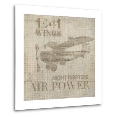 Vintage Aviation I-Irena Orlov-Metal Print