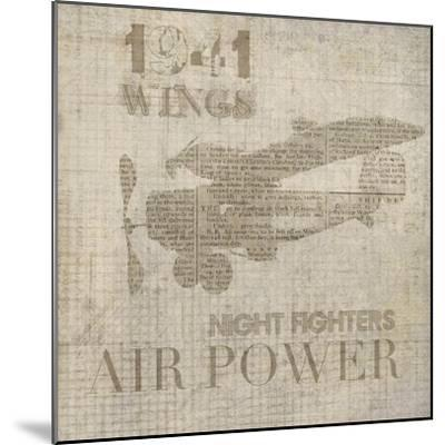 Vintage Aviation I-Irena Orlov-Mounted Art Print