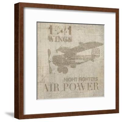 Vintage Aviation I-Irena Orlov-Framed Art Print