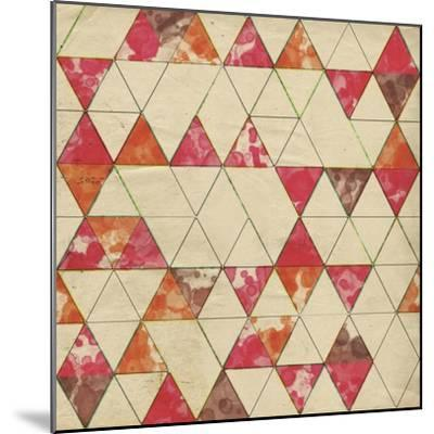 Geometric Color Shape IV-Irena Orlov-Mounted Art Print