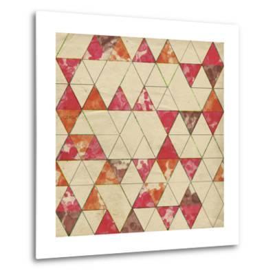 Geometric Color Shape IV-Irena Orlov-Metal Print