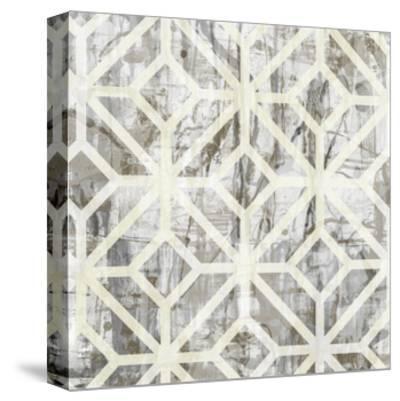 Neutral Metric III-Jennifer Goldberger-Stretched Canvas Print