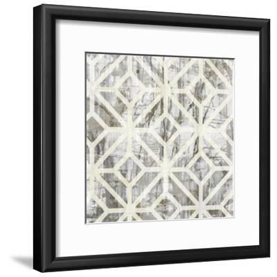 Neutral Metric III-Jennifer Goldberger-Framed Art Print