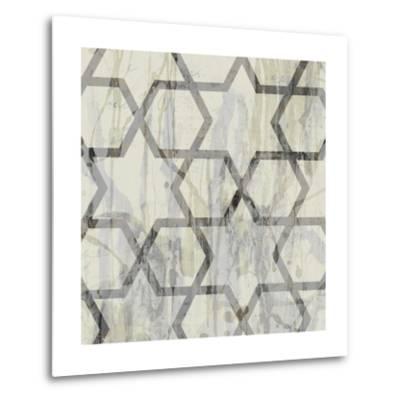 Neutral Metric VIII-Jennifer Goldberger-Metal Print