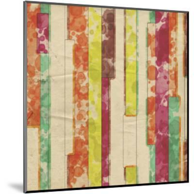 Geometric Color Shape VII-Irena Orlov-Mounted Art Print