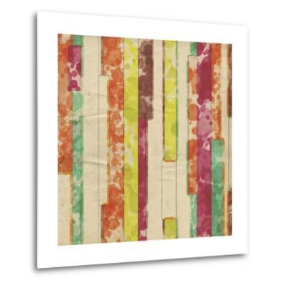 Geometric Color Shape VII-Irena Orlov-Metal Print