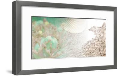Serene Photo Collage II-Irena Orlov-Framed Art Print