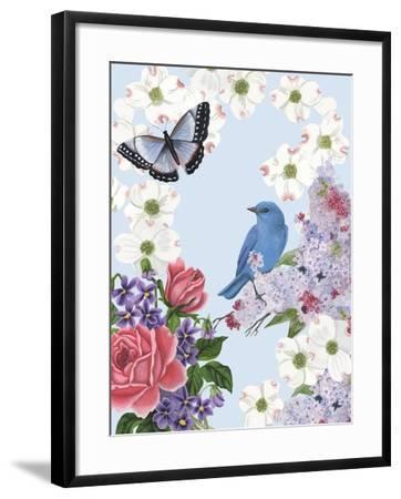 Bird Garden I-Naomi McCavitt-Framed Art Print