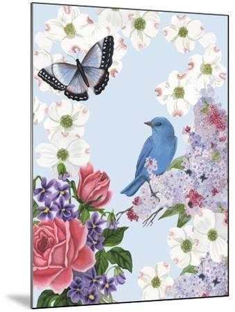 Bird Garden I-Naomi McCavitt-Mounted Art Print