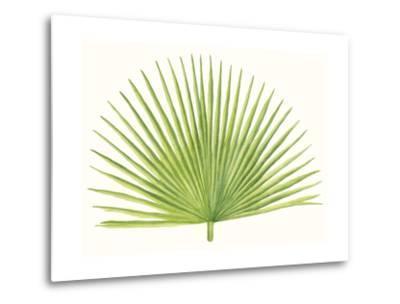 Tropical Breeze Leaves III-Naomi McCavitt-Metal Print