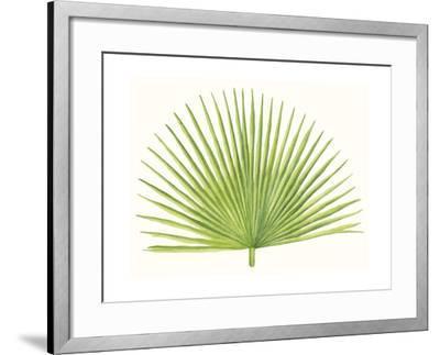 Tropical Breeze Leaves III-Naomi McCavitt-Framed Art Print