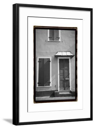 French Quarter Architecture III-Laura Denardo-Framed Art Print