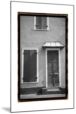 French Quarter Architecture III-Laura Denardo-Mounted Art Print