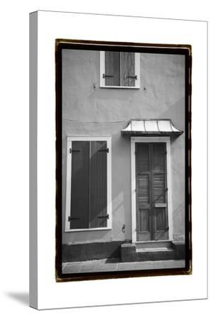 French Quarter Architecture III-Laura Denardo-Stretched Canvas Print
