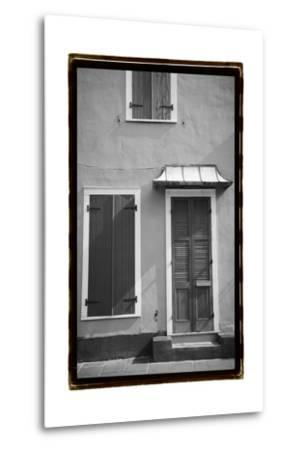 French Quarter Architecture III-Laura Denardo-Metal Print
