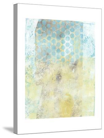 Dots on Blue II-Naomi McCavitt-Stretched Canvas Print