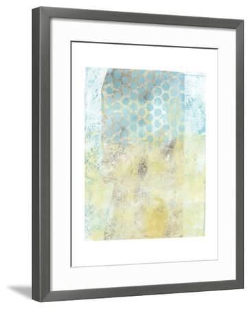 Dots on Blue II-Naomi McCavitt-Framed Art Print